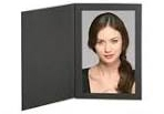 Black 4x6 folder picture frame: MALF46BK100