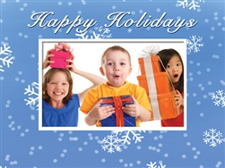 Happy Holidays Photo Folder Frame Horizontal 6x4