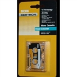 Certron Microcassette Head Cleaner MCHC