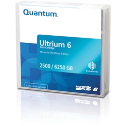 Quantum LTO 6 Ultrium Tape Library Pack of 20 (MR-L6MQN-20)