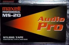 Maxell MS-20 Studio Tape