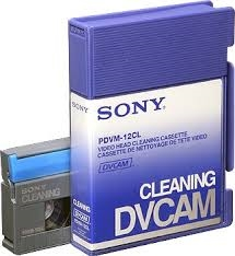 Sony PDVM12CL DVCAM cleaning tape