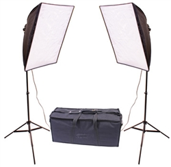 RPS Dual Square 140 Watts Folding Softbox Kit
