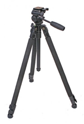 STX Pro 52 with 3 Way Head Tripod and Case