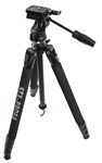 STX PRO 64 with 3 way Panhead Tripod with Case