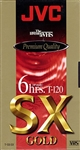 JVC T-120 SX Gold VHS - 10 Pack