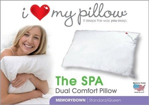 I Love My Pillow- The SPA Dual Comfort, Queen Size